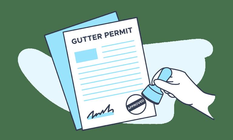 Gutter Permit Fees