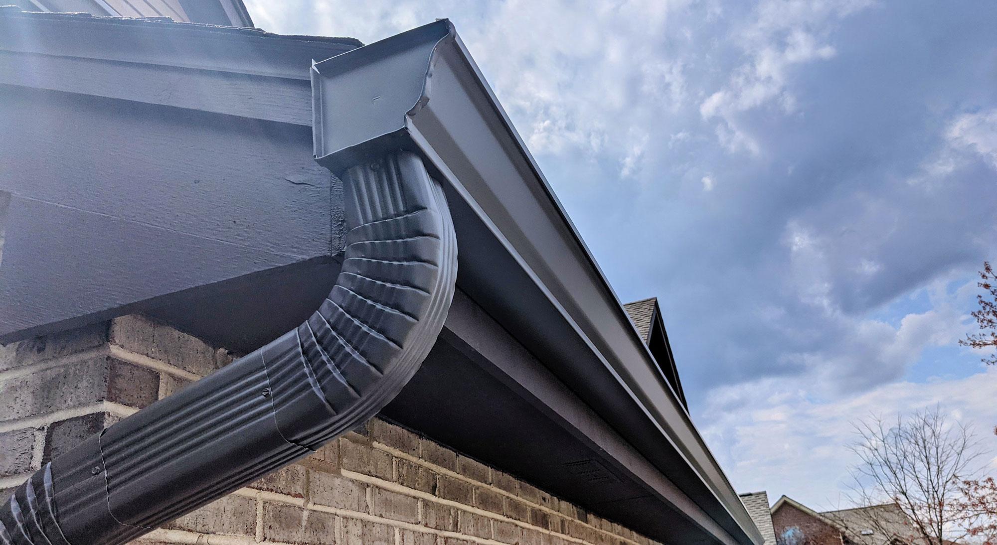 New seamless gutter cost